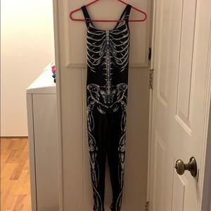 Blackmilk mechanical bones catsuit